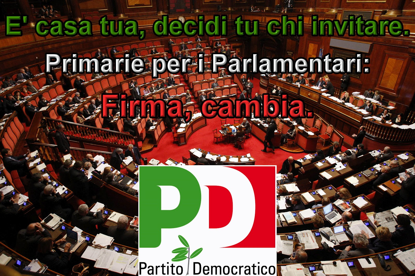 Primarie per i parlamentari si potevano fare meglio for Numero parlamentari pd