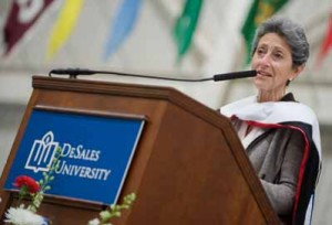 dr.-flaminia-giovanelli-at-desales-graduation-may-2014