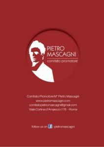 comitato promotore Pietro Mascagni