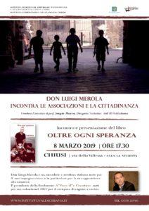 Merola_Chiusi_8 marzo_ore 17.30_sala la Villetta_associazioni e cittadinanza